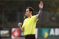 HAMBURG - Euro Hockey Leaque round 1.1.<br /> MONKSTOWN v EASTGRIN (Pool D)<br /> foto: Umpire Christian Blasch.<br /> FFU PRESS AGENCY COPYRIGHT FRANK UIJLENBROEK