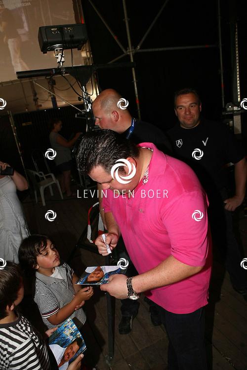 ALEM - Op het Shamajo VIP Concert was ook Frans Duijts aanwezig. FOTO LEVIN DEN BOER - PERSFOTO.NU