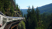Whistler Mountaineer Train ride, British Columbia, Canada