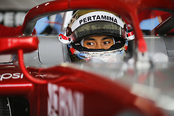 March 6, 2018 - Le Castellet, France - SEAN GELAEL of Indonesia and Prema Racing during the 2018 Formula 2 pre season testing at Circuit Paul Ricard in Le Castellet, France. (Credit Image: © James Gasperotti via ZUMA Wire)