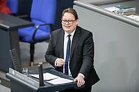 14 FEB 2019, BERLIN/GERMANY:<br /> Stefan Schwartze, MdB, SPD, Bundestagsdebatte, Plenum, Deutscher Bundestag<br /> IMAGE: 20190214-01-057<br /> KEYWORDS: Bundestag, Debatte