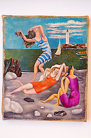France, Paris (75), Musee Picasso, Les Baigneuses 1918 // France, Paris, Picasso museum, Bathers 1918