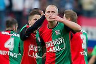 27-08-2011: Voetbal:NEC Nijmegen:Heracles Almelo:Niijmegen<br /> NEC viert de treffer van NEC's Nick VAN DER VELDEN <br /> Foto: Geert van Erven
