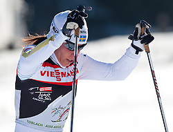 05.01.2011, Nordic Arena, Toblach, ITA, FIS Cross Country, Tour de Ski, Qualifikation Sprint Women and Men, im Bild Charlotte Kalla (SWE, #22). EXPA Pictures © 2011, PhotoCredit: EXPA/ J. Groder