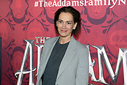 2019, December 01. Pathe ArenA, Amsterdam, the Netherlands. Monic Hendrickx at the dutch premiere of The Addams Family.