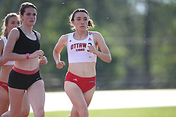 (Ottawa, Canada---26 June 2019) Rebecca Brennan competing in Ottawa Summer Twilight Track and Field Meet #3 at the Terry Fox Athletic Facility in Ottawa, Canada. Photo 2019 Copyright Sean W Burges / Mundo Sport Images.