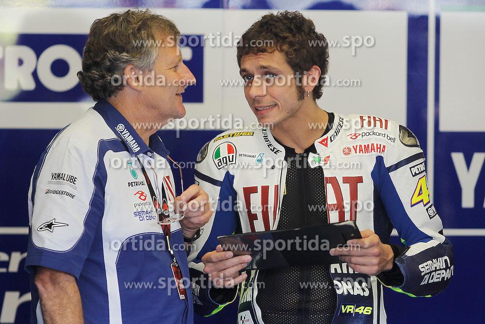 30.04.2010, Motomondiale, Jerez de la Frontera, ESP, MotoGP, Race, im Bild Valentino Rossi - Fiat Yamaha team. EXPA Pictures © 2010, PhotoCredit: EXPA/ InsideFoto