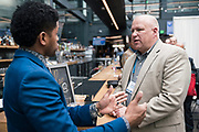 Clint Laskowski from Summary Medical at the Wisconsin Entrepreneurship Conference at Venue 42 in Milwaukee, Wisconsin, Tuesday, June 4, 2019.