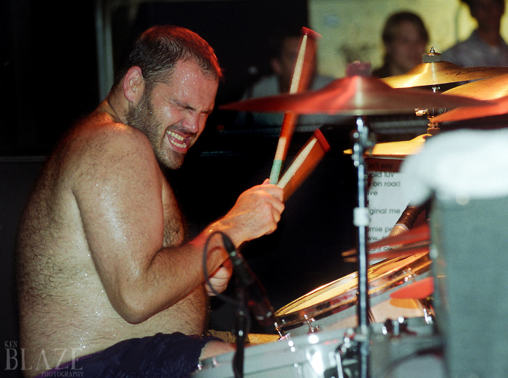 Bill Stevenson performs with the band ALL on July 29, 2000 in Detroit, Michigan. Stevenson is a punk pioneer, playing with bands such as Black Flag, the Descendents, ALL, The Last and Only Crime