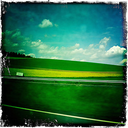 Autobahn, Germany..Hipstamatic images taken on an Apple iPhone..©Michael Schofield.