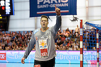Roland Mikler - 12.04.2015 - Paris Handball / Vezprem - Champions League<br />Photo :  Andre Ferreira  / Icon Sport