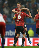 Fussball Bundesliga 2012/13: Hamburger SV - Leverkusen