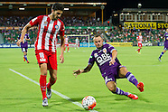 Perth Glory vs Melbourne City Jan 2016