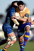 Andrew Fauoo of North Otago in action during the Ranfurly Shield match between Otago and North Otago, held at Whitestone Contracting Stadium, Oamaru, New Zealand, 26 July 2019. Credit: Joe Allison / www.Photosport.nz