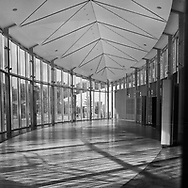Atrium and events space at the Brooklyn Botanic Garden
