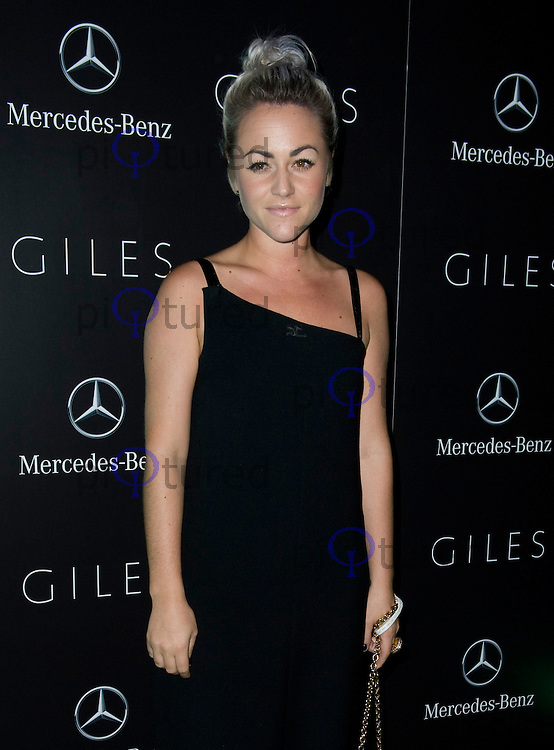 Arrivals for the Giles Deacon After Show Party during London Fashion Week..19th September 2011..Pics by Dave Norton / Piqtured