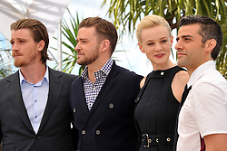 59665540 .(L to R) Cast members actor Garrett Hedlund, Justin Timberlake, Carey Mulligan and Oscar Isaac pose during a photocall for American film Inside Llewyn Davis presented in Competition at the 66th edition of the Cannes Film Festival in Cannes, southern France, May 19, 2013. Photo by: imago / i-Images. UK ONLY