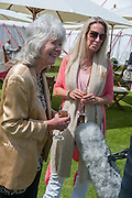 JILLY COOPER; EMILY TARRANT, Cartier Queen's Cup. Guards Polo Club, Windsor Great Park. 17 June 2012