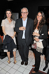 Left to right, ALLEGRA DONN, DON BOYD and INES BRAGA at a party to celebrate the publication of Ghosts by Daylight by Janine Di Giovanni held at Blakes Hotel, London on 12th July 2011.