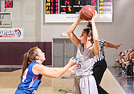 December 14, 2013: The Lubbock Christian University Chaparrals play against the Oklahoma Christian University Lady Eagles in the Eagles Nest on the campus of Oklahoma Christian University.