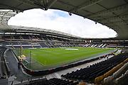 Hull City KCOM ground before the EFL Sky Bet Championship match between Hull City and Sunderland at the KCOM Stadium, Kingston upon Hull, England on 16 September 2017. Photo by Ian Lyall.
