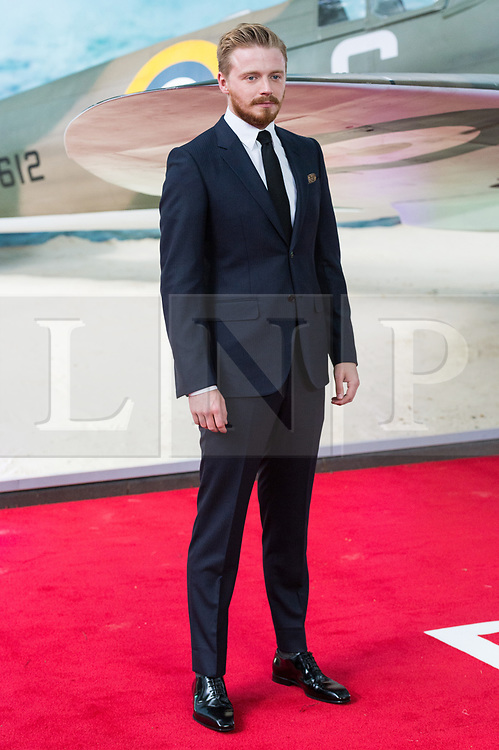 © Licensed to London News Pictures. 13/07/2017. London, UK. JACK LOWDEN attends the Dunkirk World Film Premiere. Photo credit: Ray Tang/LNP