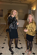 JERRY HALL; LINLEY TROTT, Ai Weiwei, Royal Academy, Piccadilly. London.  15 September 2015.