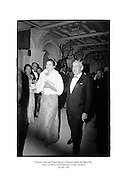 Princess Grace and Prince Rainier of Monaco attend the 'Ball of the Petits Lits Blancs' at Powerscourt, County Wicklow.<br />