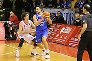Dalla Valle, Cardillo<br /> Grissin Bon Reggio Emilia - Enel Basket Brindisi<br /> Campionato Basket LNP 2016/2017<br /> Reggio Emilia, 06/02/2017<br /> Foto Ciamillo-Castoria