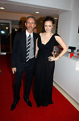 PATRICK COX and CAMILLA AL FAYED at a party to celebrate the 90th birthday of Vogue magazine held at The Serpentine Gallery, Kensington Gardens, London on 8th November 2006.<br /><br />NON EXCLUSIVE - WORLD RIGHTS