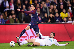 March 6, 2018 - Paris, U.S. - DI MARIA Angel (PSG) vs Mateo Kovacic (Real Madrid)  during the Champions League match Real Madrid at Paris Saint-Germain on March 6, 2018 in Paris, France. (Photo by JB Autissier/Panoramic/Icon Sportswire) ****NO AGENTS---NORTH AND SOUTH AMERICA SALES ONLY****NO AGENTS---NORTH AND SOUTH AMERICA SALES ONLY* (Credit Image: © Jb Autissier/Icon SMI via ZUMA Press)