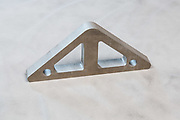 water jet cut steel part