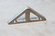 water jet cut steel part