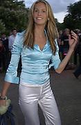 Elle Macpherson. Serpentine Summer Gala. 28 June 2001. © Copyright Photograph by Dafydd Jones 66 Stockwell Park Rd. London SW9 0DA Tel 020 7733 0108 www.dafjones.com