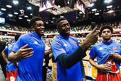 Marcus Delpeche and Daniel Edozie - Rogan/JMP - 14/10/2018 - BASKETBALL - Copper Box Arena - London, England - British Basketball All-Stars Championship 2018.
