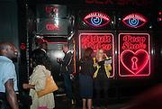 Yto Barrada opening. Pace London Soho. Lexington St. and afterwards at La Bodega Negra. Old Compton St. 23 May 2012.