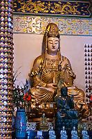 Goddesses Guan Yin, Tian Hou and the Waterfront are the main deities of Thean Hou Temple in Kuala Lumpur.