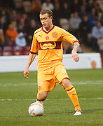Motherwell's Nicky Law - Motherwell v Dundee at Fir Park in the Clydesdale Bank Scottish Premier League.. - © David Young - www.davidyoungphoto.co.uk - email: davidyoungphoto@gmail.com