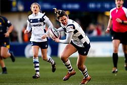 Lily Stoeger-Goddard of Bristol Bears Women - Mandatory by-line: Robbie Stephenson/JMP - 01/12/2019 - RUGBY - Sixways Stadium - Worcester, England - Worcester Warriors Women v Bristol Bears Women - Tyrrells Premier 15s