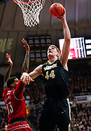 NCAA Basketball - Purdue Boilermakers vs Louisville Cardinals - West Lafayette, In