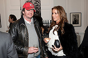 SCOTT YOUNG; JAYNE BLIGHT, Book launch for Isabella Blow- A Life in Fashion. Book by Lauren Goldstein Crowe. Henrietta St. London. 23 February 2011. -DO NOT ARCHIVE-© Copyright Photograph by Dafydd Jones. 248 Clapham Rd. London SW9 0PZ. Tel 0207 820 0771. www.dafjones.com.