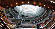 The new Fulton Center subway station in New York City