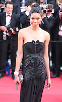 Chanel Iman at the 'Behind The Candelabra' gala screening at the Cannes Film Festival  Tuesday 21 May 2013