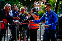 Tom Nichols of Bristol Rovers arrives at Loftus Road prior to kick off  - Mandatory by-line: Ryan Hiscott/JMP - 28/08/2018 - FOOTBALL - Loftus Road - London, England - Queens Park Rangers v Bristol Rovers - Carabao Cup