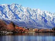Remarkable Mountains, Frankton, New Zealand