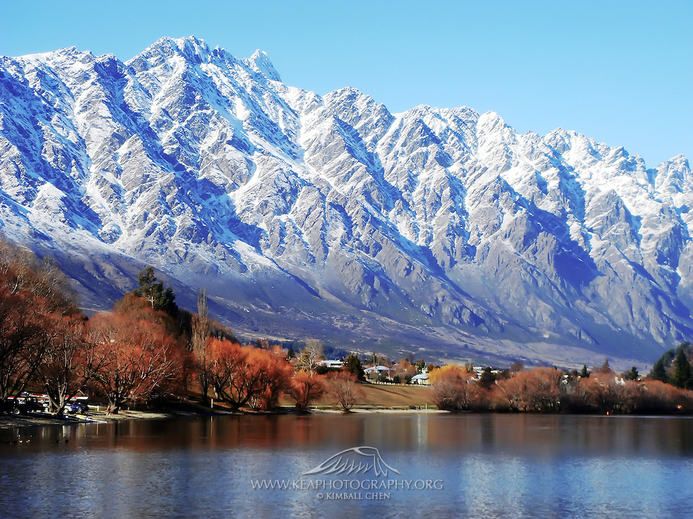 Remarkable Mountains, Frankton, New Zealand