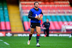 Leigh Halfpenny takes part in the training session - Photo mandatory by-line: Ryan Hiscott/JMP - 29/10/2018 - RUGBY - Principality Stadium - Cardiff, Wales - Autumn Series - Wales Rugby Open Training Session