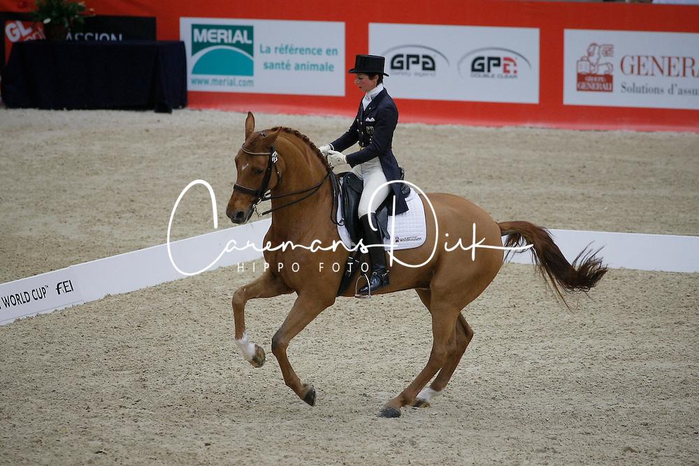 Theodorescu Monica (GER) - Whisper<br /> CDI-W Lyon 2009<br /> © Dirk Caremans