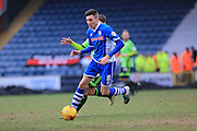 Matty Lund during the Sky Bet League 1 match between Rochdale and Sheffield Utd at Spotland, Rochdale, England on 27 February 2016. Photo by Daniel Youngs.