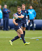 Bagshot, United Kingdom, Ben FODEN,,  during  England  Training for the  2013 QBE Autumn<br /> Rugby International, England vs Argentina, at the England training facility Pennyhill Park, Surrey<br /> Thursday  07/11/2013 RFU Stadium Twickenham,<br /> England. [Mandatory Credit: Peter Spurrier/Intersport<br /> Images]